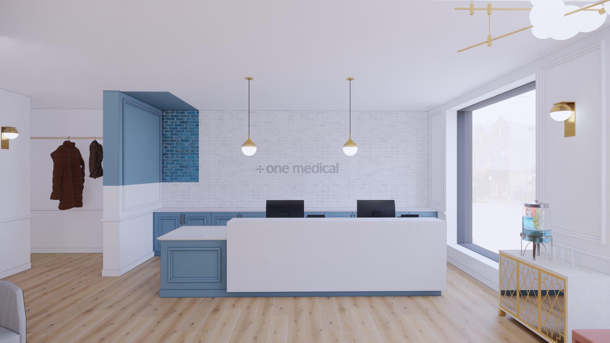 Chicago Wicker Park office render
